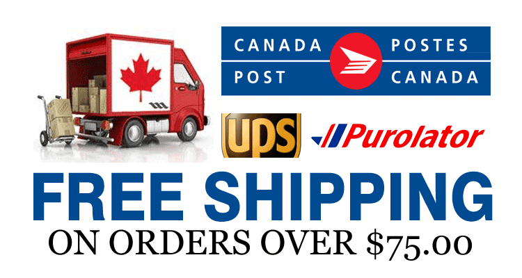 Shipping to all of Canada
